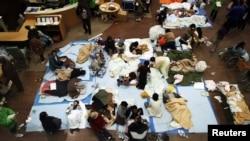 Adăpost și prim ajutor după evacuare