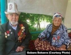 Эргеш Темиркулов и его супруга Кайриниса Темиркулова.