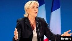 Марин Ле Пен, Франция президенттігіне кандидат.