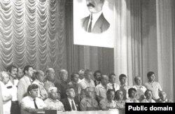 На Втором Курултае. Июнь 1991 года