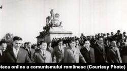 Ceausescu, vizită de lucru în Alba Iulia (7-8 X 1966). Fototeca online a comunismului românesc; cota:591/1966
