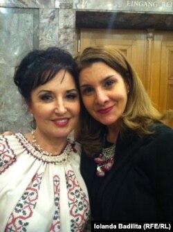 Cu Iolanda Bădiliță la Berna
