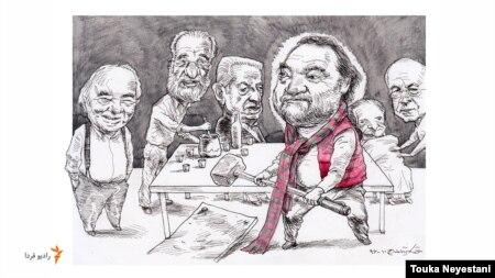 بهروز حشمت و مهمانانش/ کاری از توکا نیستانی