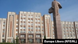Clădirea legislativului transnistrean