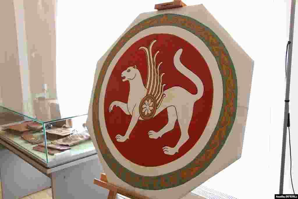 Күннән эшләнгән Татарстан гербы
