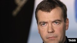 Medvedev spoke with United Russia leaders in Sochi.