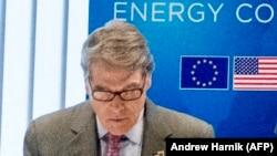 Министр энергетики США Рик Перри. Брюссель, 12 июля 2018 года.