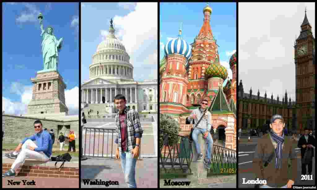 Лето в четырех городах мира. Три страны, три культуры. Летние каникулы 2011 года.