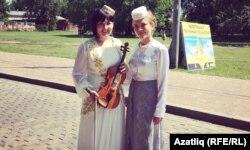 Скрипкачы Динә Закирова белән