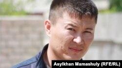 Жәбірленуші Нұрлан Аязбаев. Ақтау, 3 мамыр 2012 жыл.