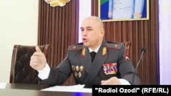 Qudratullo Nazarzoda, regional police chief of the northern province of Sughd