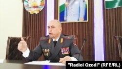 Согди облустук Ички иштер башкармалыгынын башчысы Кудратулло Назарзода.