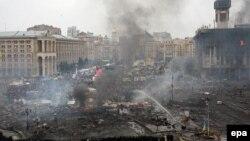 Ուկրաինա - Կիև, Եվրոմայդան, 19-ը փետրվարի, 2014թ․