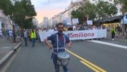Protest u Beogradu: Ne odustajemo od zahteva