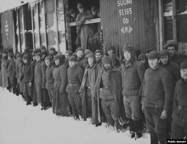 Савецкія ваеннапалонныя ў Фінляндыі, 1942 год