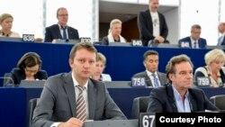 Europarlamentarul Siegfried Muresan, Strasbourg