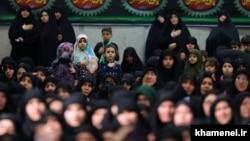 На религиозной церемонии в Тегеране памяти Фатимы – дочери пророка Мохаммеда. Иллюстративное фото.