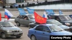Автопробег в Керчи, 2014 год, архивное фото