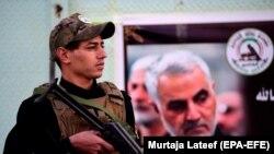 İraqda İrana bağlı qruplaşmanın döyüşçüsü