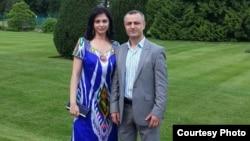 Д.Дагиев вместе с супругой Наргис