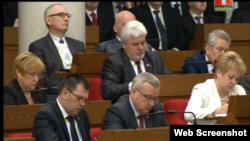 Падчас сёлетняга пасланьня Аляксандра Лукашэнкі.