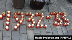 Акція «Запалімо свічку пам'яті!», Прага, 4 листопада 2018 року