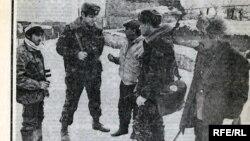 Sovet qəzetləri Azərbaycanda 1990-cı ilin yanvarında baş verən hadisələrdən yazır