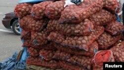 Ադրբեջանում պնդում են՝ Վրաստանից ներկրվող կարտոֆիլը հայկական է