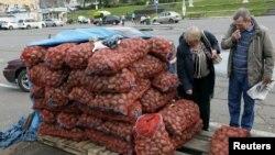 Картошка базар.