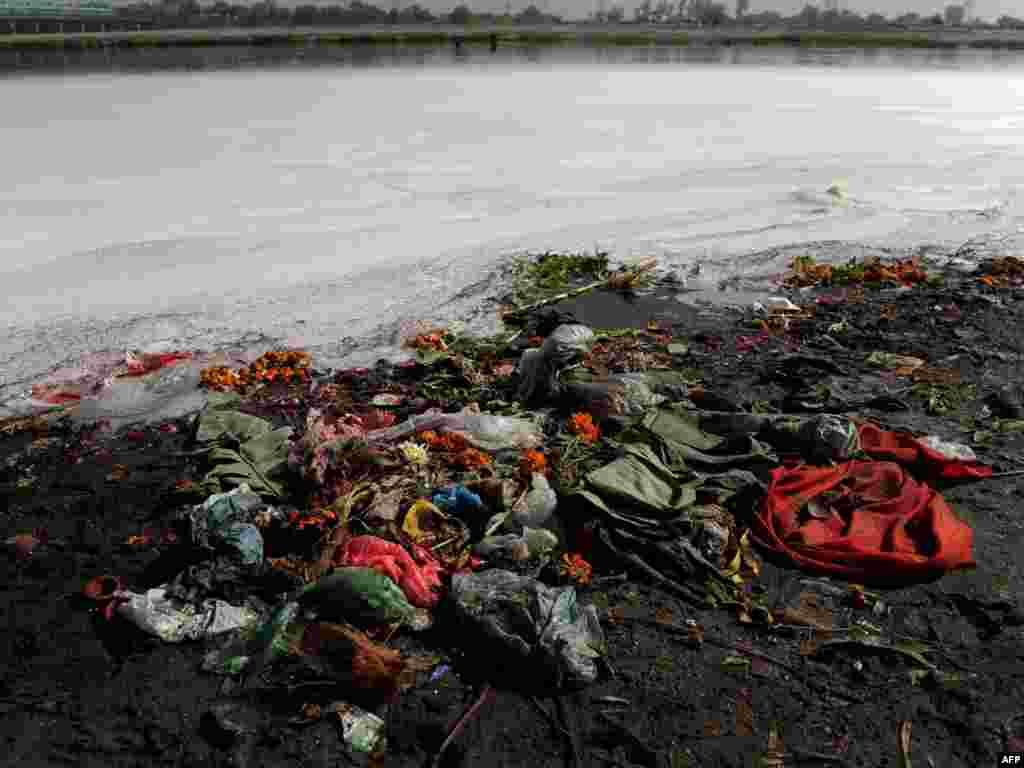 22 сакавіка – Сусьветны дзень водных рэсурсаў Забруджаная рака ў Індыі