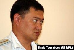 Прокурор Еркин Майшинов. Алматы, 10 сентября 2012 года.