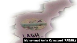 Afghanistan – Laghman province Map which is cut from Afghanistan Map by Kamalpuri, undated