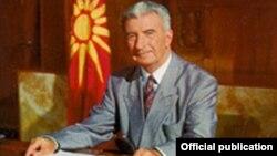 Киро Глигоров, прв претседател на независна Македонија.