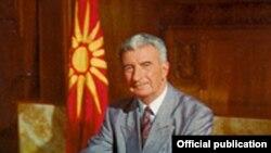 Киро Глигоров, првиот претседател на независна Македонија