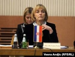 Vesna Pusić na sastanku SEECP-a u Beogradu, 31. januar 2012.