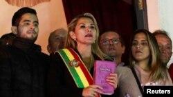 Выканаўца абавязкаў прэзыдэнта Балівіі Жанін Аньес