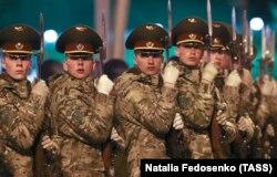 Репетиция Парада Победы 2020 года в Минске