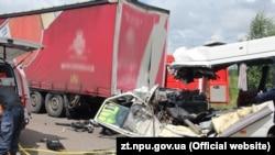 У ДТП на Житомирщині 10 людей загинули, ще дев'ять отримали травми, 20 липня 2018 року