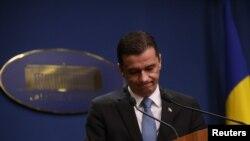 Premierul României, Sorin Grindeanu, 4 februarie 2017.