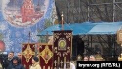 Молебен и крестный ход на Рождество Христово в Севастополе, 7 января 2017 года. Архивное фото