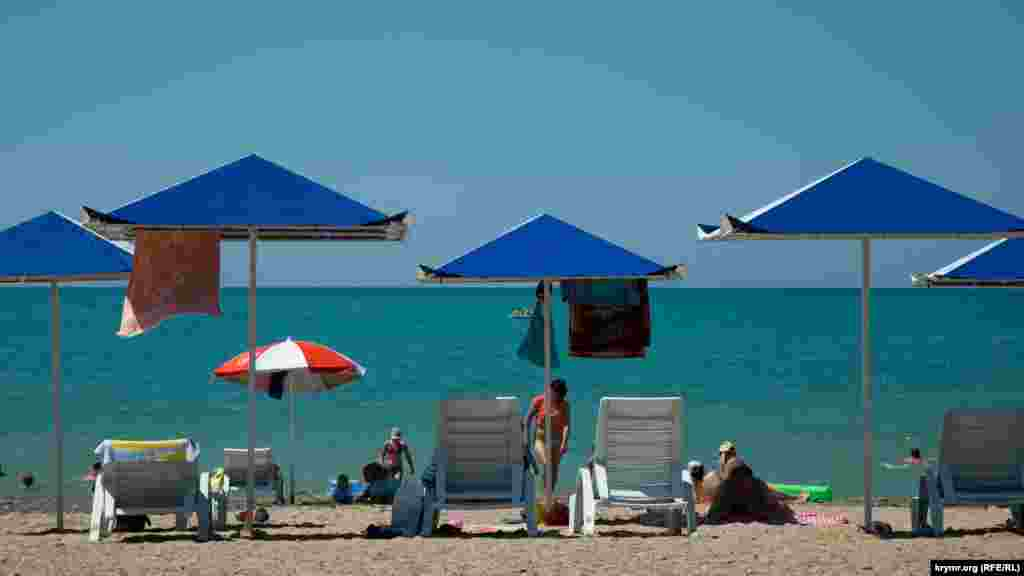 Туристический сезон в Морском
