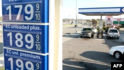 Цены на бензин в США растут с угрожающей быстротой
