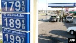 Цены на бензин в США неуклонно растут