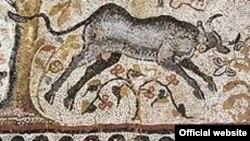 Еден од мозаиците во Хераклеја