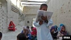 دانشآموزان روستای کوچو، سیستان و بلوچستان