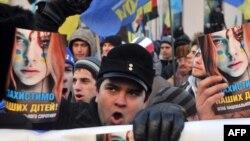 Шерушілер. Киев, 3 желтоқсан 2013 жыл.