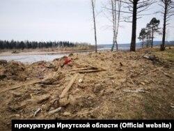 """Кладбище """"Мостотрест"""" в посёлке Шумский после перезахоронения"""