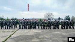 """Контингент на АРМ од касарната """"Страшо Пинџур"""" во Петровец замина во извршување на мисија во состав на силите на НАТО во Косово – КФОР"""
