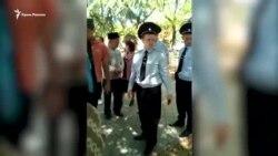 В Феодосии полиция препятствовала местным жителям почтить память жертв геноцида крымских татар (видео)