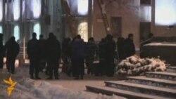 Кастрычніцкая плошча 19.12.2010 каля 19-00